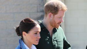 Beim Gärtnern: Prinz Harry und Meghan im Jeans-Partnerlook!