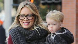 Hilary Duff: Frühstücks-Date mit Söhnchen Luca