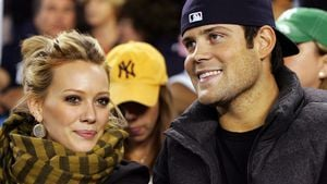 Hilary Duff und Mike Comrie 2008 in New York