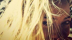 Elektrisiert! Hilary Duffs Haare stehen zu Berge