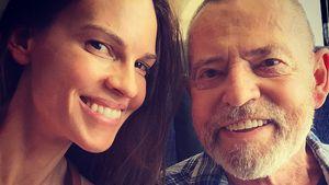 Nach Lungentransplantation: Wie geht es Hilary Swanks Vater?