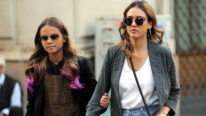 Jessica Alba geht mit Tochter Honor (10) zum Therapeuten