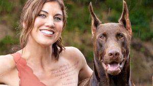 Nach Schussverletzung: Hope Solos Hund Conan ist gestorben