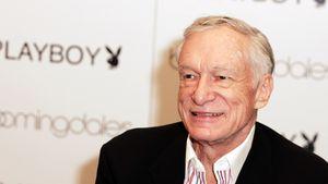 1. Mann auf dem Cover: Playboy ehrt Gründer Hugh Hefner (✝)