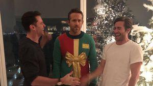 "Fake-Motto ""Sweater"": Ryan Reynolds auf Xmas-Feier veräppelt"