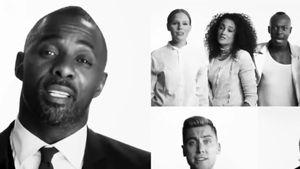 Lance Bass und Idris Elba