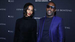 Strahlend: Idris Elbas erster Red Carpet nach Traumhochzeit