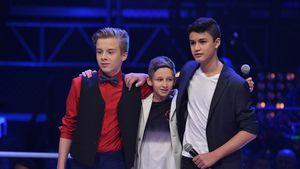 Iggi, Leon und Ruben bei The Voice Kids