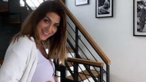 Hier ist er: Bachelor-Girl Inci zeigt stolz ihren Babybauch