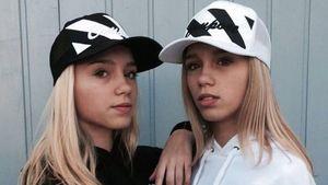 Instagram-Stars Lisa und Lena mit Cap