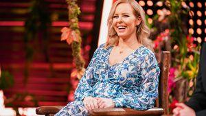 In Dschungelshow: Isabel Edvardsson präsentiert XL-Babybauch