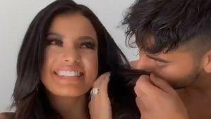 Heiße Videos: Ivana Santacruz und Abbas wieder zusammen?