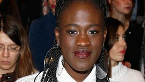Ivy Quainoo bei der Berlin Fashion Week