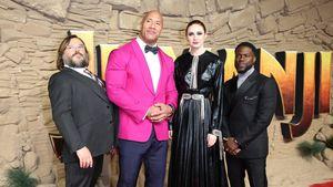 Bro-Beef bei The Rock und Kevin Hart: Jack Black feiert's!