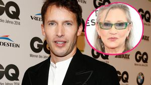 James Blunt und Carrie Fisher