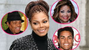 Janet Jackson mit Familie