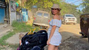 Wie meistert schwangere Janni Kusmagk ihre Reisestrapazen?