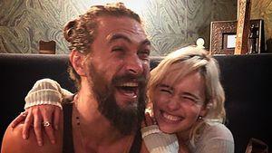 Emilia Clarke & Jason Momoa: Feuchtfröhliche GoT-Reunion!