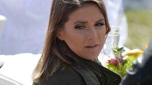 Jeanette Biedermann beim ZDF-Fernsehgarten