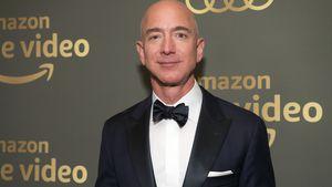 Amazon-Gründer Jeff Bezos feiert seine Weltraum-Rückkehr