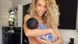 Total vernarrt: Jason Derulos Freundin knuddelt ihren Sohn