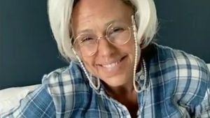 Welche US-Schauspielerin ist hier als Großmutter verkleidet?