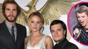 Taylor Swift, Liam Hemsworth, Jennifer Lawrence und Josh Hutcherson