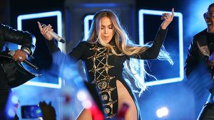 "Jennifer Lopez wärend ihrer ""4th of July""-Performance in NY"