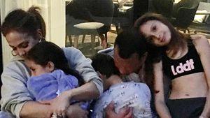 Verschmust: Jennifer Lopez liebt ihre Patchwork-Familie!