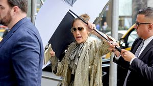 Jennifer Lopez in New York