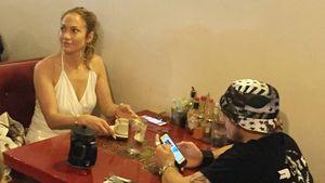 Gesichtet: Jennifer Lopez & Casper beim Liebes-Lunch