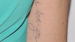 Wem gehört denn dieses neue Liebes-Tattoo?