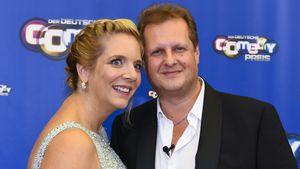 Daniela und Jens Büchner bei der Verleihung des Deutschen Comedypreises 2016 in Köln