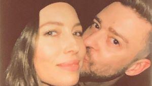 """Liebe dich"": So gratuliert Justin Timberlake Jessica Biel"