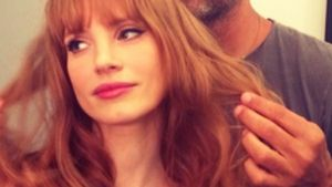 "She ""bangs"": Jessica Chastain wagt einen sexy Pony"
