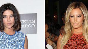 Jessica Szohr & Ashley Tisdale im gleichen Dress!