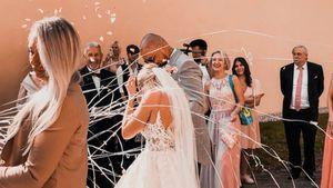 Nik zu Tränen gerührt: Jessi heiratete in Prinzessinnenkleid