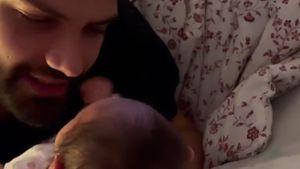 Yeliz gefällt's: Neu-Vater Jimi Blue singt für seine Tochter