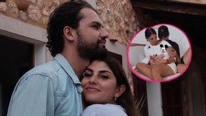 Mit Yasins Baby: Hier üben Jimi und Yeliz für Elternrolle!