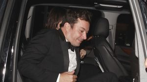 Jimmy Fallon im Auto in LA