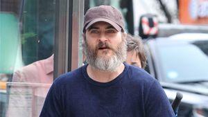 Joaquin Phoenix bei Dreharbeiten in Manhattan