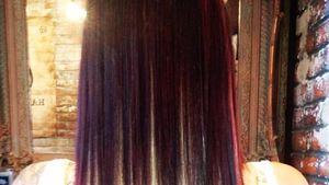 Komische Farbwahl: Jodie Marsh mit neuen Haaren