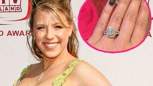 Schicker Klunker: Jodie Sweeting zeigt ihren Verlobungsring