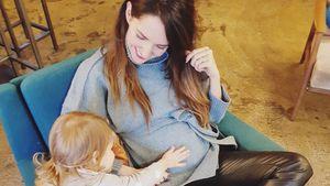 Johanna Klum im Baby-Rausch: Auch ihre Tochter freut sich!