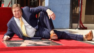 "Dankbar: John Goodman bekommt Stern auf dem ""Walk of Fame"""
