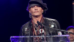 Johnny Depp bei den TEC Awards