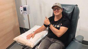 Krebs ist zurück: Für Johnny Ruffo beginnt Chemo-Therapie