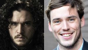 "Kit Harington als Jon Snow in ""Game of Thrones"" und Sam Clafin"