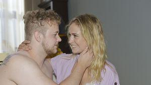 Happy End bei GZSZ: Jonas und Sophie sind offiziell ein Paar