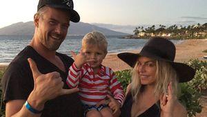 Josh Duhamel und Fergie mit Sohn Axl Jack